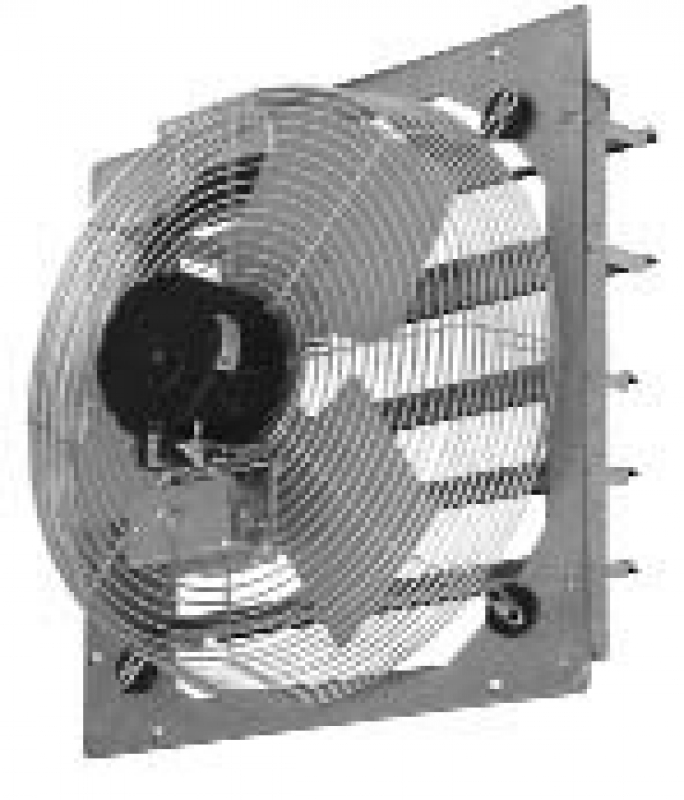 Tpi Corp Ce Ds Series Shutter Mounted Industrial Exhaust Fan