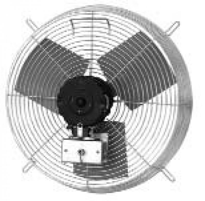 Tpi Corp Ce D Series Guard Mounted Industrial Exhaust Fan