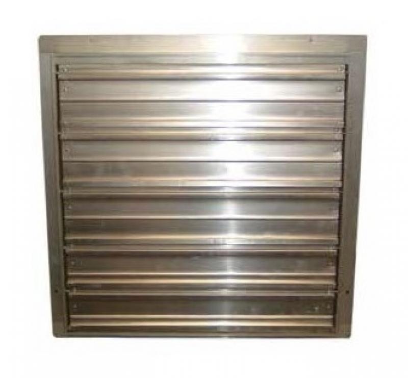 TPI Corp CESG Series Industrial Exhaust Fan WALL SHUTTER - Industrial bathroom fan
