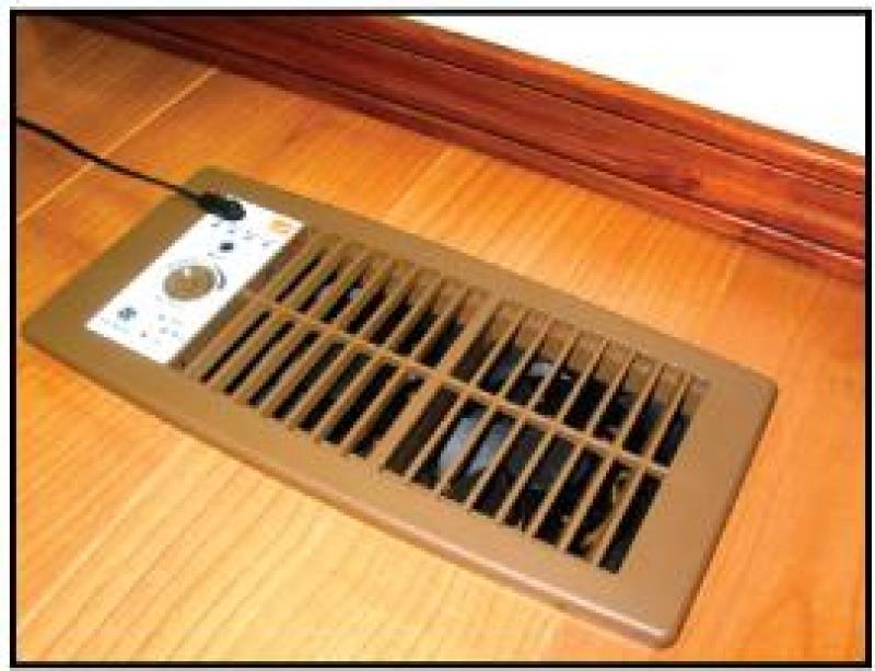 Suncourt Flush Fit Register Booster Fan