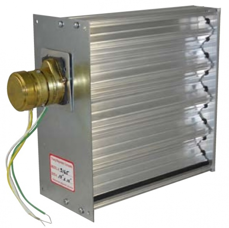 Po Pc Opposed Blade Louver Duct Damper