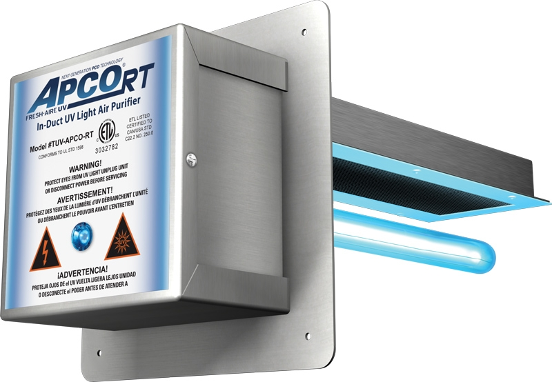 "Fresh-Aire  APCO RT UV-C Lamp For 11"" IN-DUCT Mount"