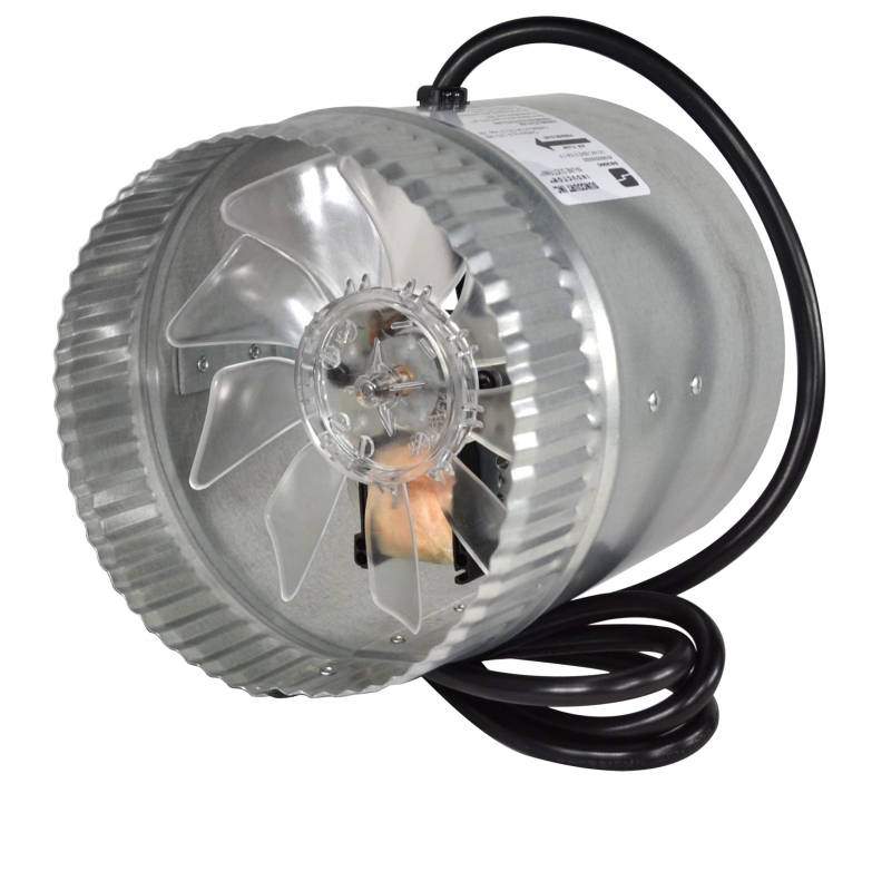 In Line Duct Booster Fan 4 Quot Thru 12 Quot Duct