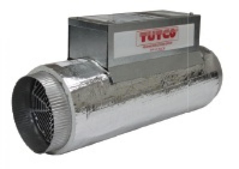 Duct Fan In An Enclosure : Tutco in line duct heater