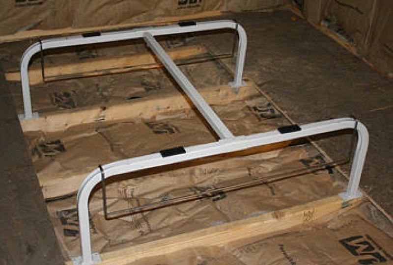 Air Handler Furnace Light Duty Floor Stand Qstd 2000