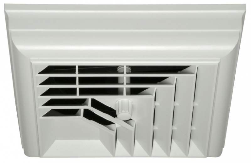 "DESIGNER 2-Way Square Ceiling Diffuser 6""-7""-8"" Duct"