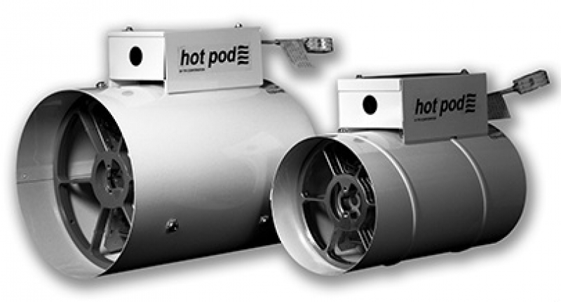 Tpi Hot Pod In Line Electric Duct Heater