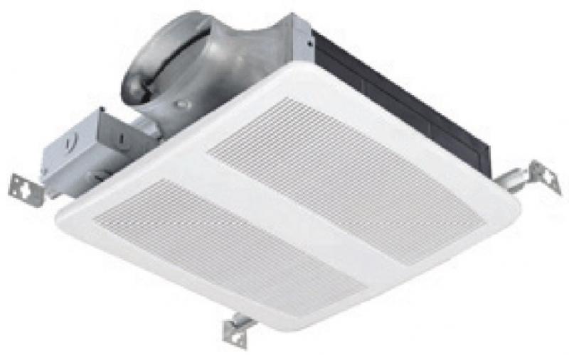SP LOW PROFILE Bathroom Fan Wall Or Ceiling - Low profile bathroom fan with light