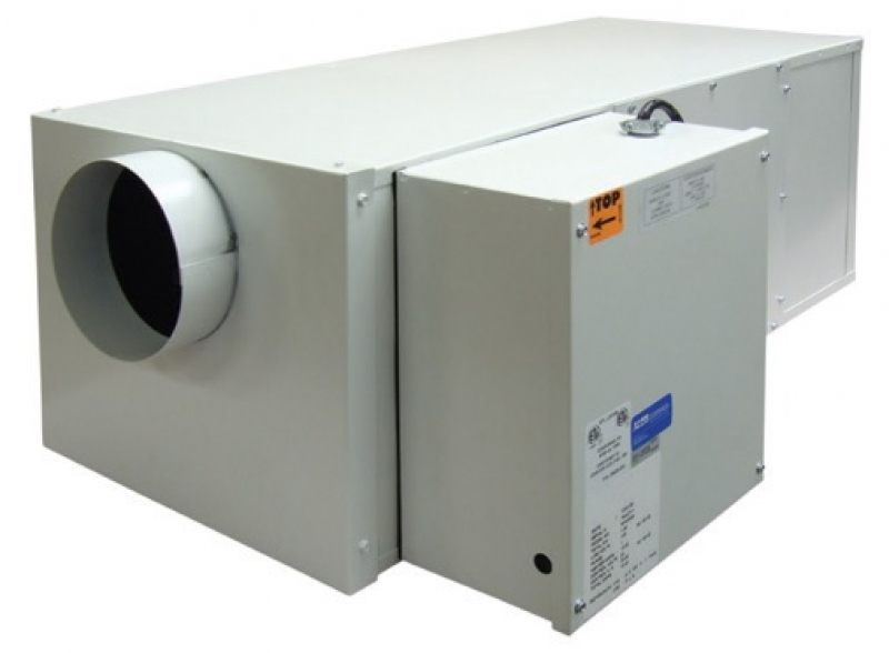 Tpi Hot Pod In Line Duct Heater High Capacity