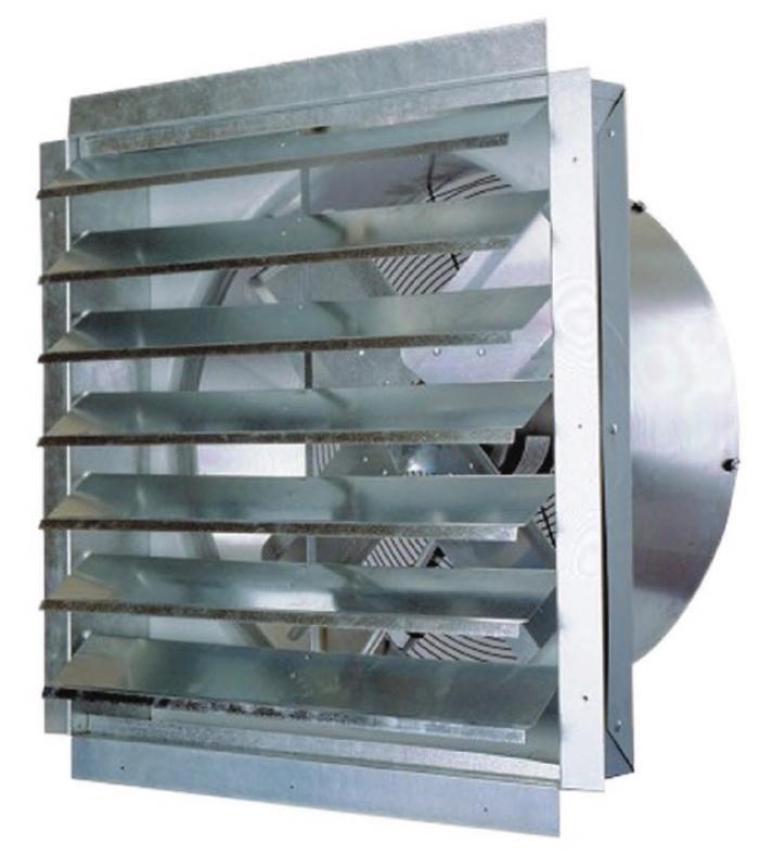 MAXX AIR IF Series Wall Exhaust Fan With Shutter