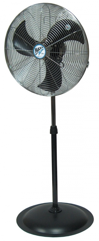 "MAXX AIR HVPF 22 OSCILLATING 22"" Pedestal Fan."