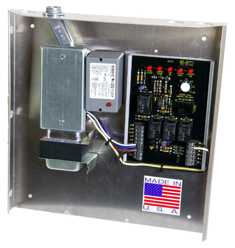 Fresh Air Ventilation Control Panel Exhaust Fan Relay