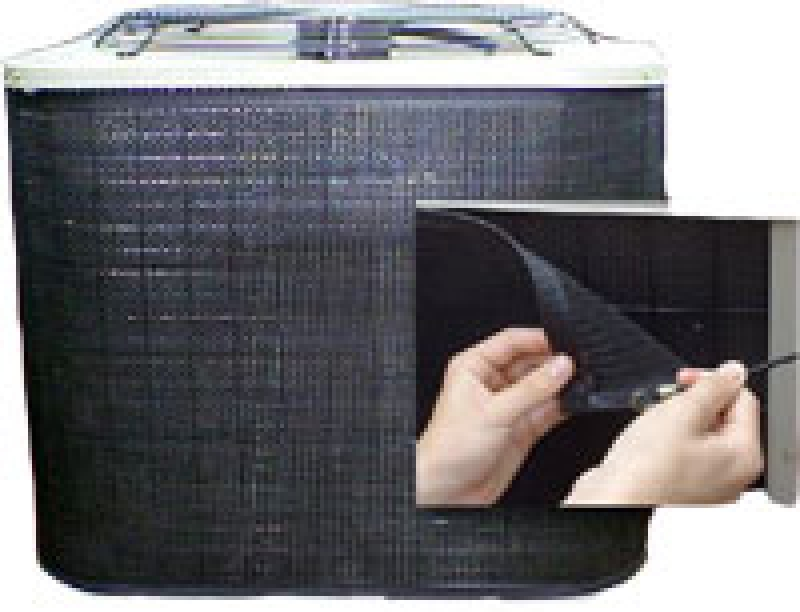 Prevent Wrap Around Air Conditioner Condenser Filter