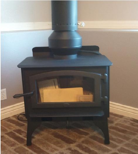 Draw Collar Wood Stove Chimney Draft Inducer