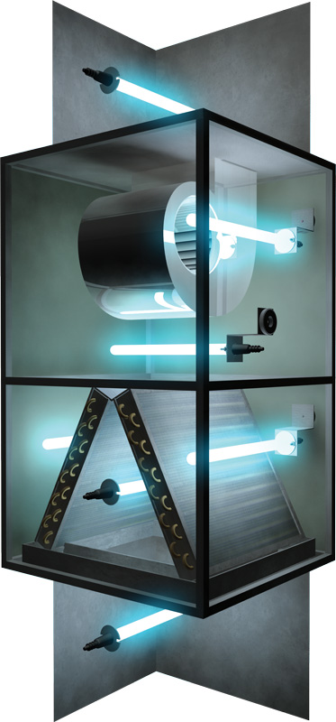 Fresh-Aire BLUE TUBE UV Germicidal Lamp