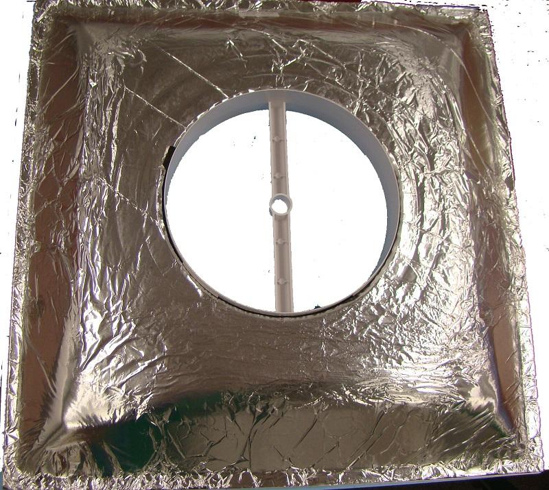 Havaco Plastic 2 X2 Ceiling Supply Diffuser Plaque