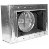 CEILING RADIATION Fire Damper Installed Register Box
