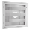 HAVACO Plastic 2'X2' Ceiling RETURN Filter Grille LOUVER