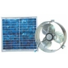 SOLAR POWERED GABLE Attic Fan REMOTE PANEL