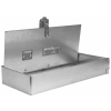 Single Blade CEILING RADIATION Fire Damper - 3 HR UL Rated