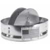 Round CEILING RADIATION Fire Damper - 3 HR UL Rated